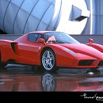 Video dell'auto da corsa Ferrari Enzo