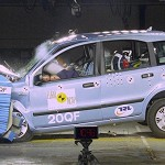Video: crash test di una Fiat Panda