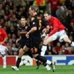 Video Champions League: la Roma perde in casa del Manchester. Gol di Rooney