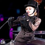 Video Madonna concerto a New York trasmesso su Internet. Justin Timberlake e canzoni Hard Candy nuovo album