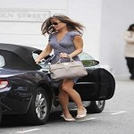 Pippa Middleton in giro a fare shopping. Foto della splendida sorella di Kate