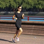 Pippa Middleton in forma con il jogging. Foto